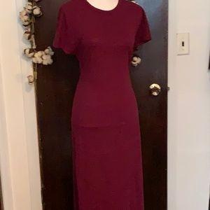 LulaRoe Maxi Dress Wine Color